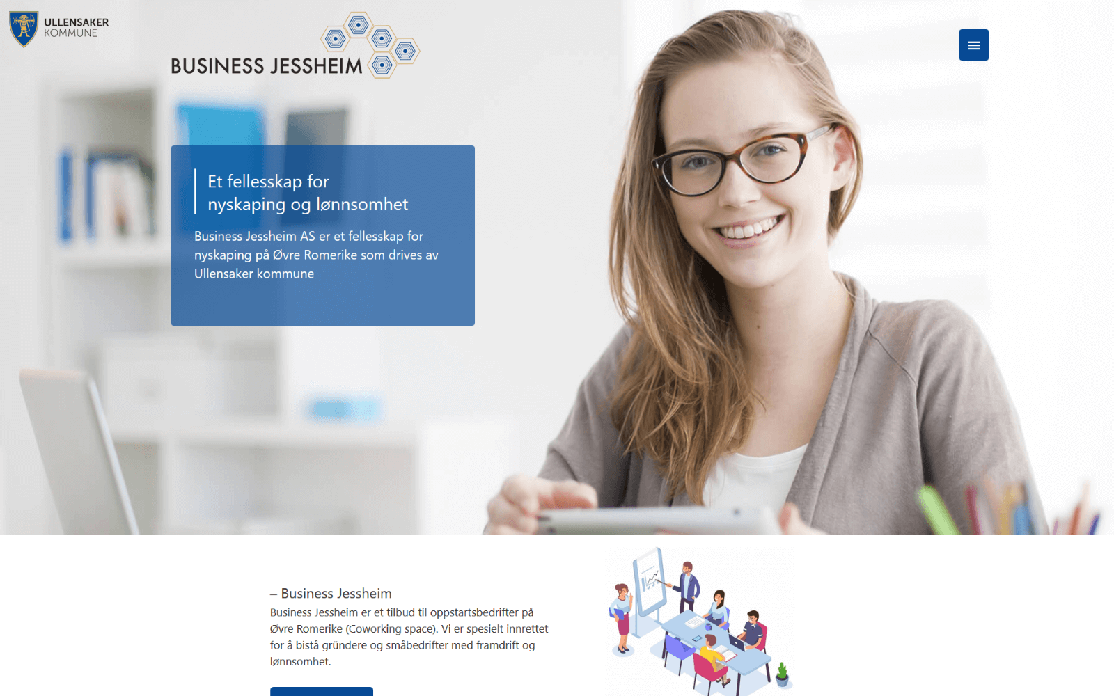 Business Jessheim web forside