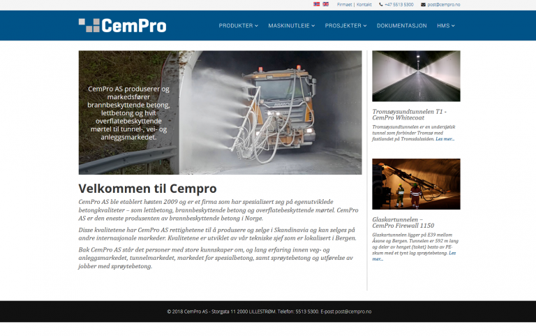 CemPro Joomla side