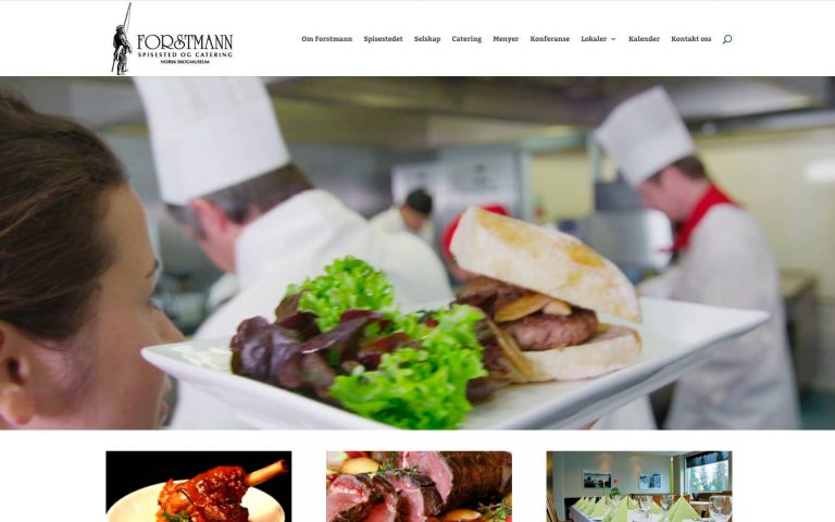 Forstmann spisested og catering webside