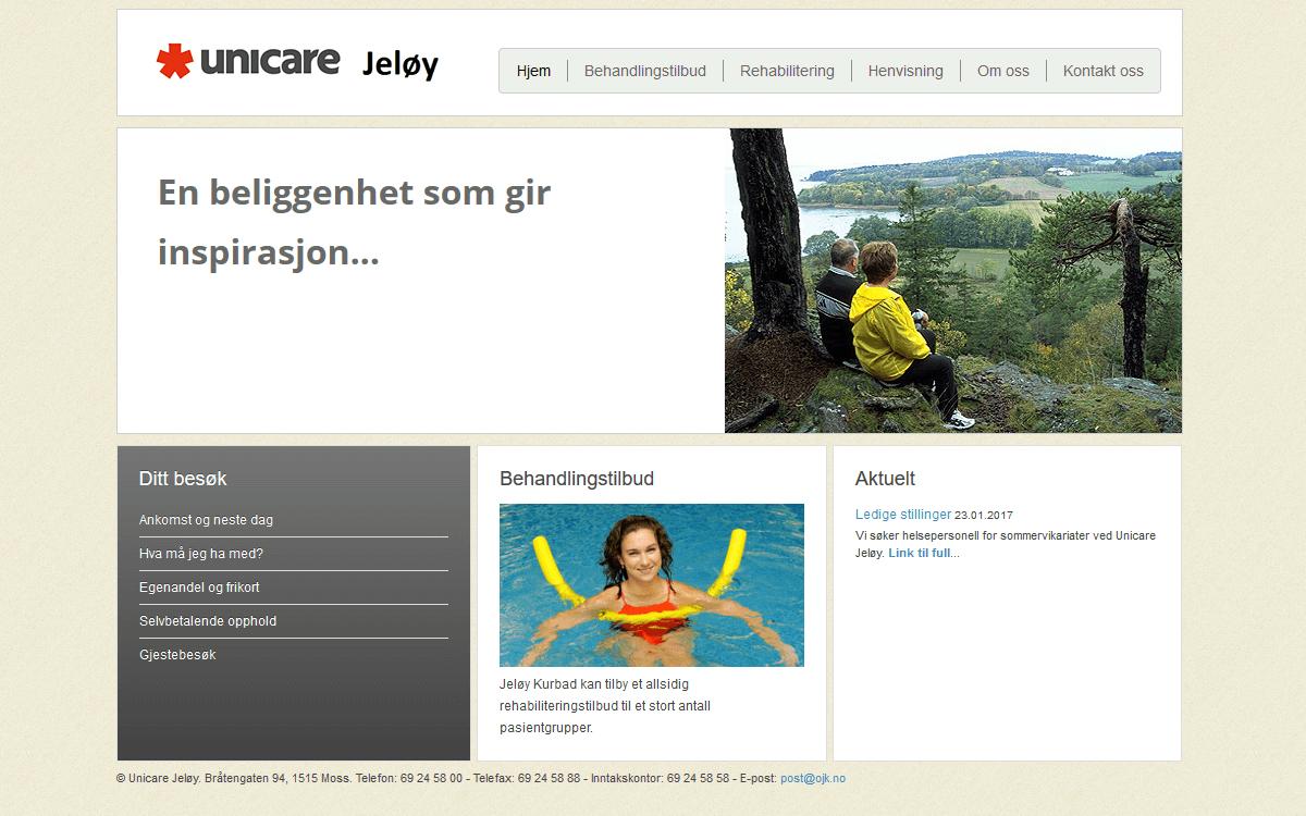 Jeløy Kurbad webside