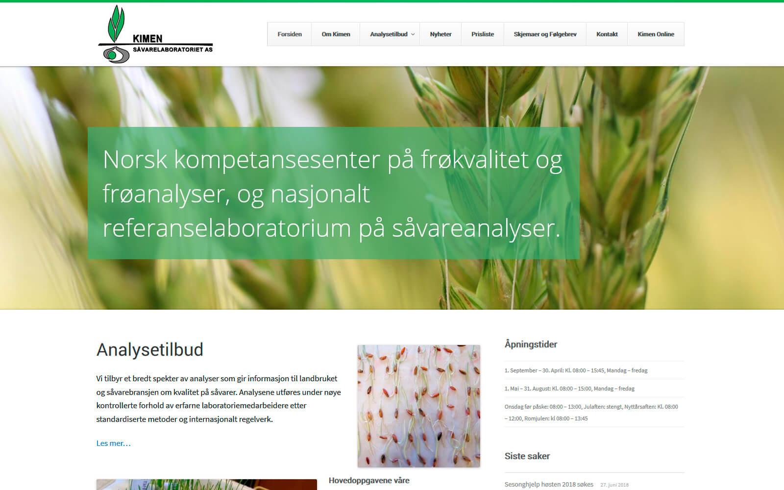 Kimen webside