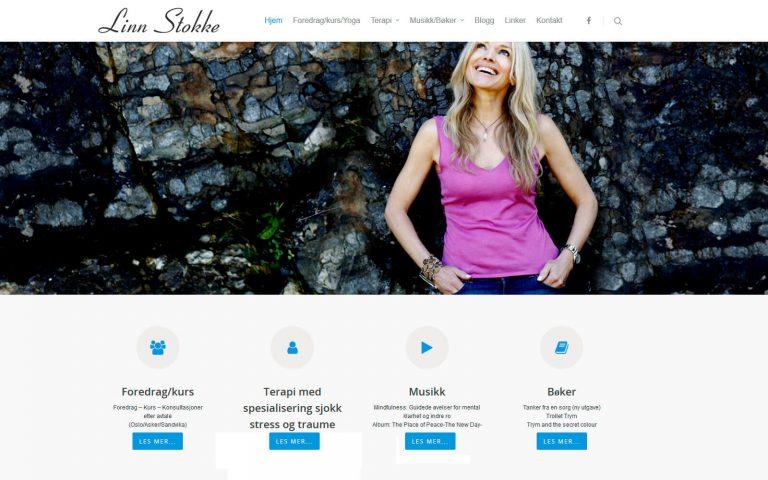 Linn Stokke webside