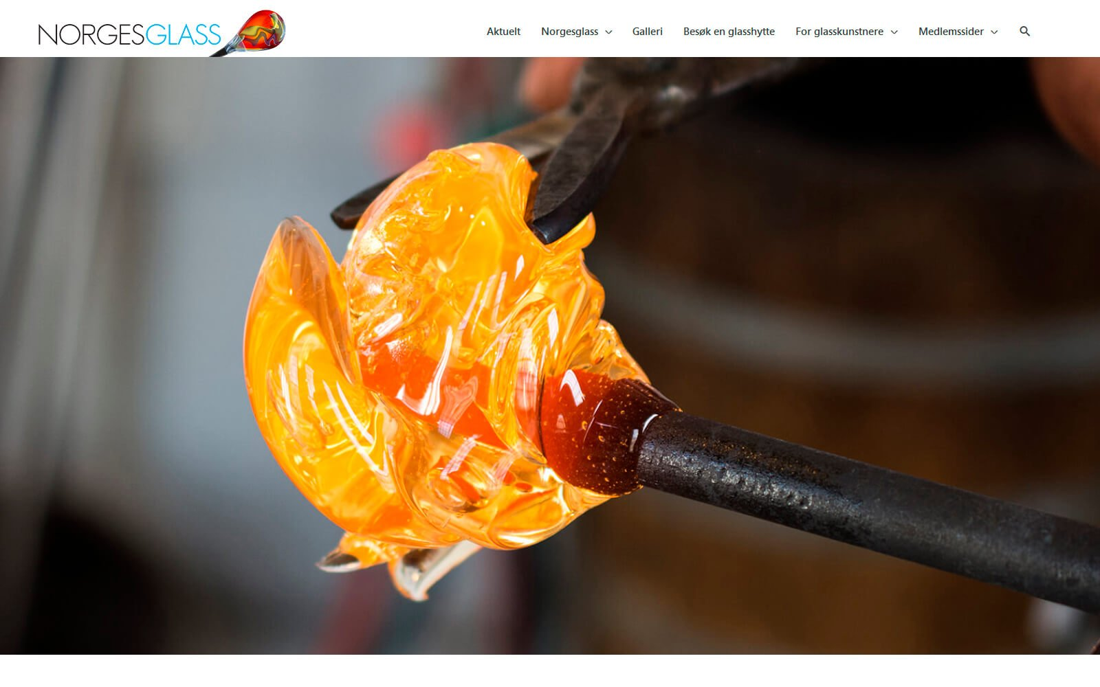 Norgesglass webside