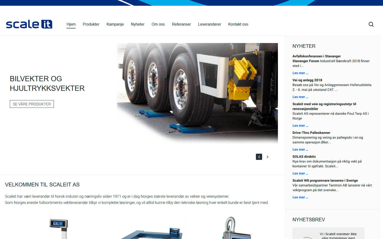 Scaleit webside