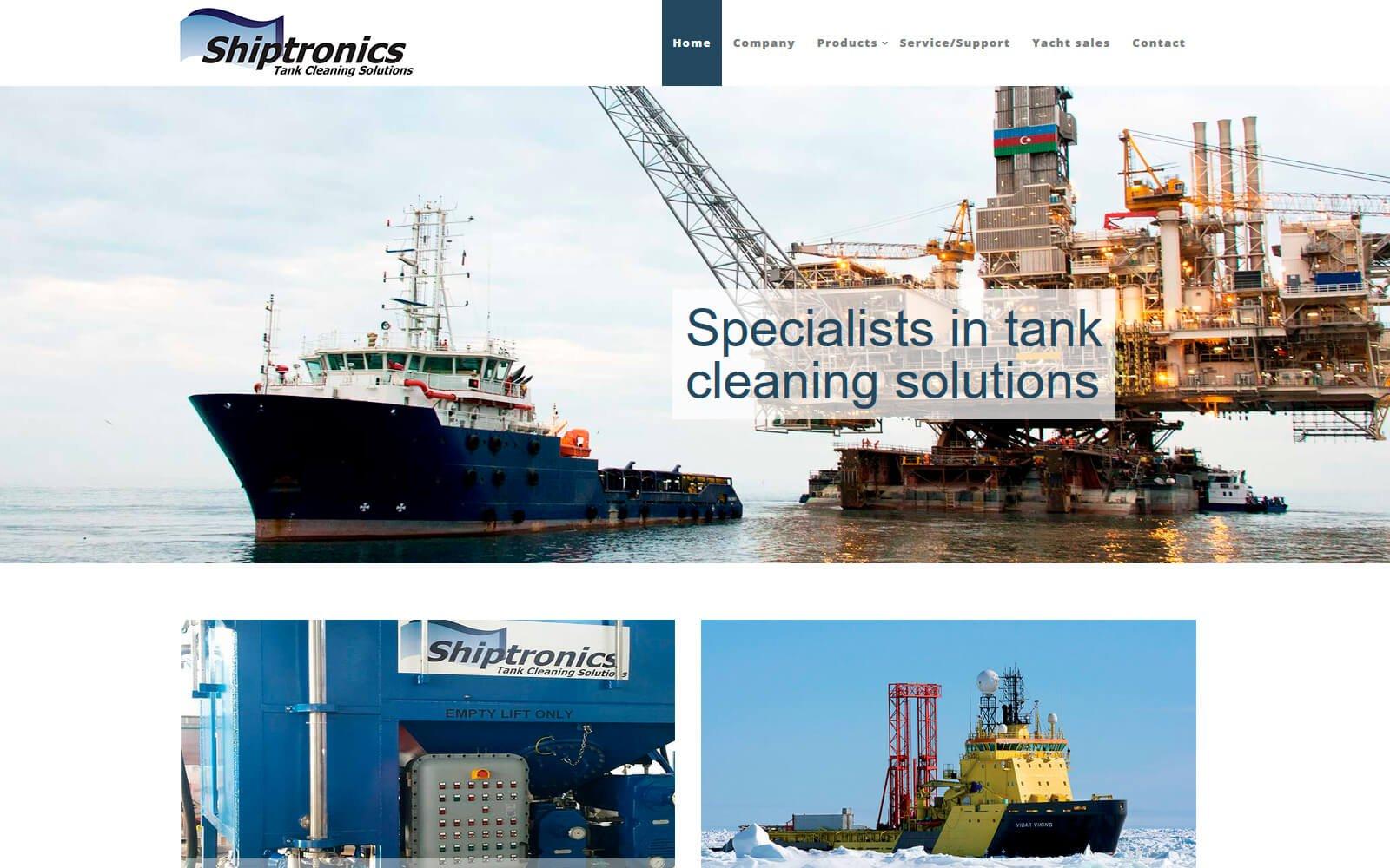 Shiptronics webside