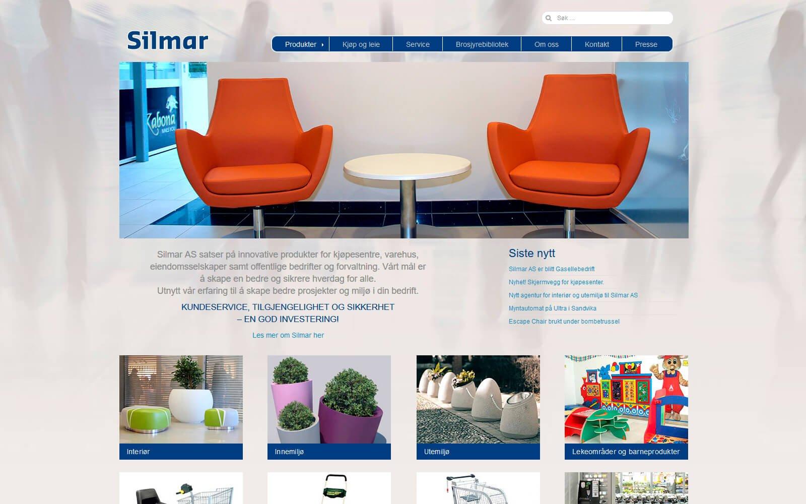 Silmar webside