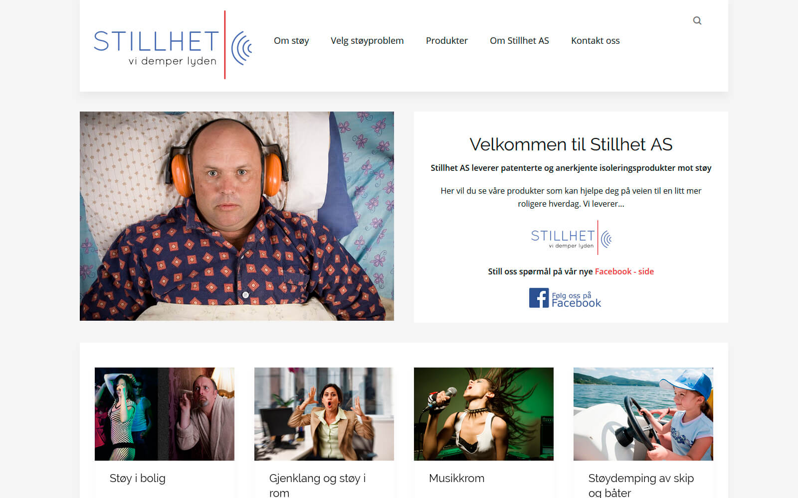 Stillet AS webside