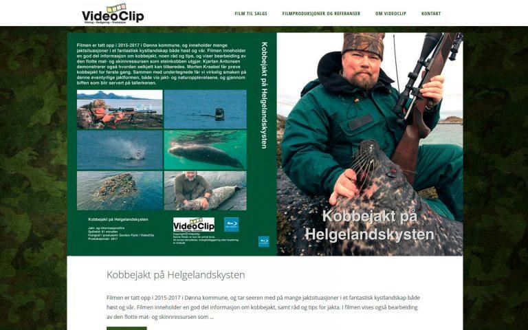 Videoclip webside