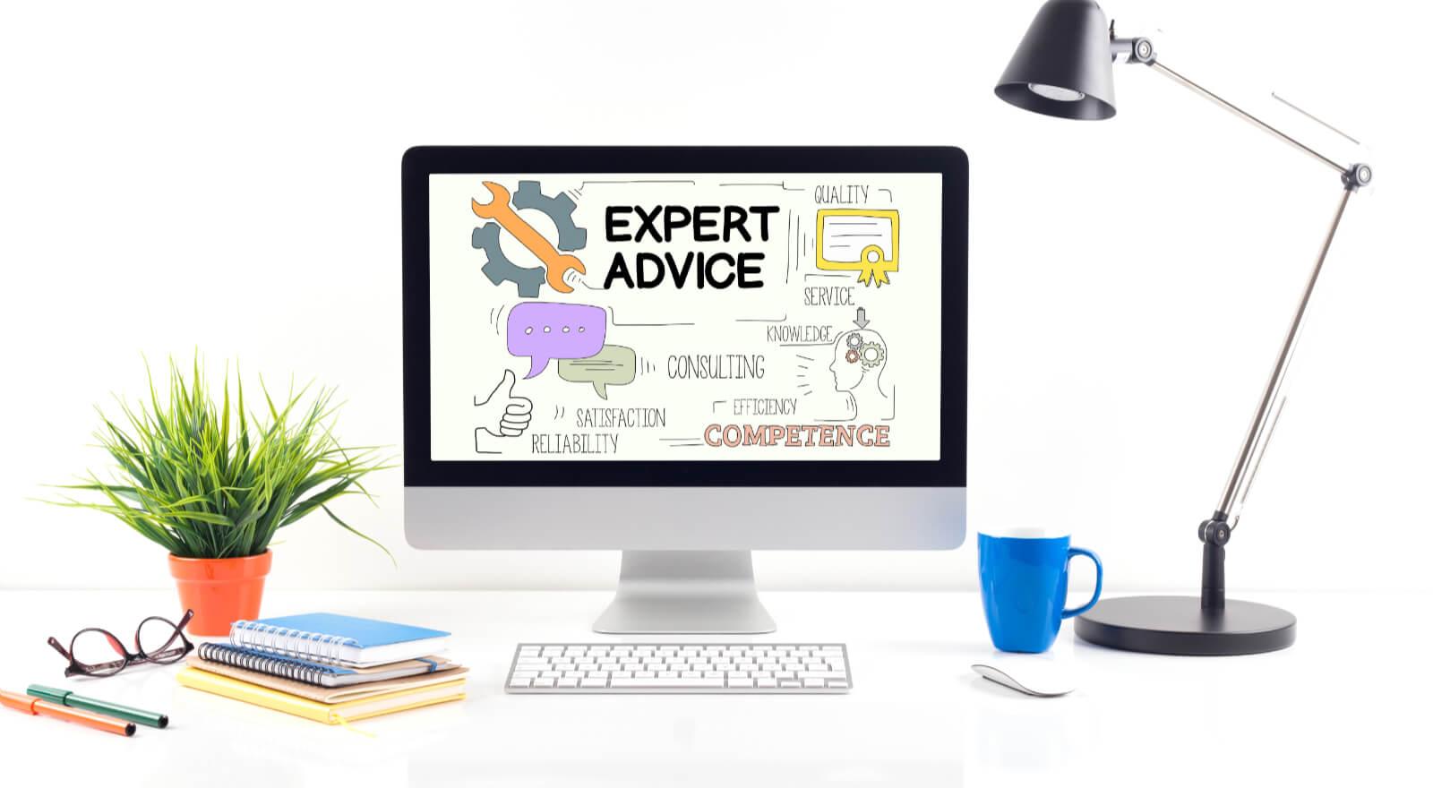 Få webdesigner ekspert råd